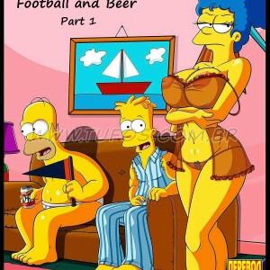 The Simpsons - [Tufos] - Os Simptoons 001 - Futebol E Cerveja - Parte 01