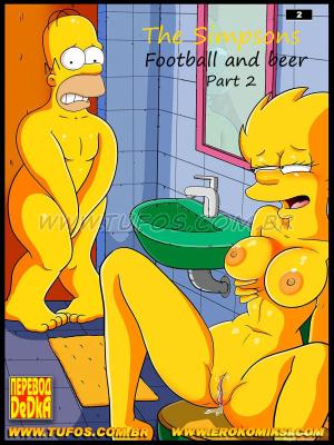 Goodcomix The Simpsons - [Tufos] - Os Simptoons 002 - Futebol E Cerveja - Parte 02