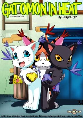 Goodcomix Digimon Adventure - [Palcomix][DigiHentai] - Gatomon In Heat 1