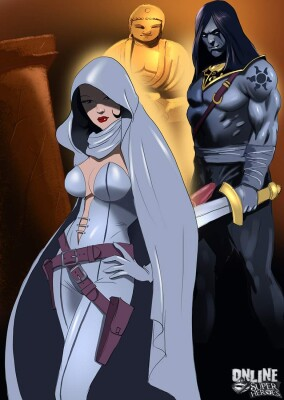 Goodcomix Crossover Heroes - [Online SuperHeroes] - Ghost Dominated and Fucked Hard by Kade