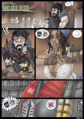 Goodcomix Dragon Age - [Nikraria] - Hawk's Sexual Solution