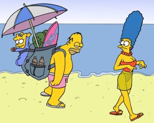Goodcomix The Simpsons - [CartoonValley][Akabur] - Homer And Marge 4 - Vacations