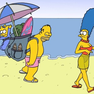 The Simpsons - [CartoonValley][Akabur] - Homer And Marge 4 - Vacations