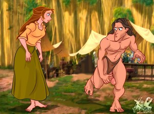 Goodcomix Tarzan - [XL-Toons] - Hot Blowjob From The Lovely Brunette