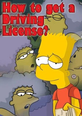 Goodcomix The Simpsons - [Comics-Toons] - How To Get A Driving Licence