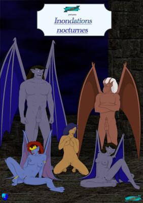 Goodcomix Gargoyles - [Fab3716] - Inondations Nocturnes