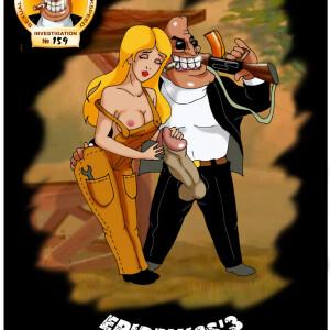 Crossover - [CartoonValley][Helg] - Agent Fuckspeed - Investigation #159 - Epidemics 3 (dildo7)