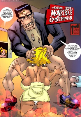Goodcomix Crossover - [MonsterBabeCentral] - The Fraternal Order of Monstrous Gentlemen! - Issue 13 - Franklin's Attack