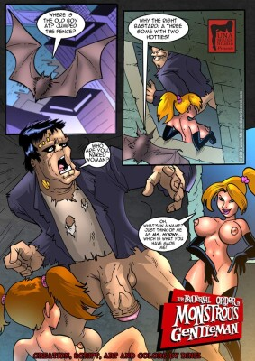 Goodcomix Crossover - [MonsterBabeCentral] - The Fraternal Order of Monstrous Gentlemen! - Issue 15 - Hunters Hole