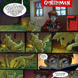 Crossover - [MonsterBabeCentral] - The Fraternal Order of Monstrous Gentlemen! - Issue 3 - Teen Wolf