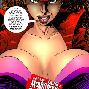 Crossover - [MonsterBabeCentral] - The Fraternal Order of Monstrous Gentlemen! - Issue 7 -  First Encounter With Monsters