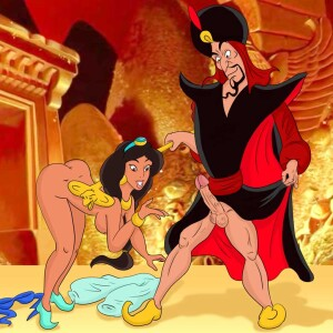 Aladdin - [XL-Toons] - Jasmine Getting Her Tight Butthole Fucked By The Evil Jafar
