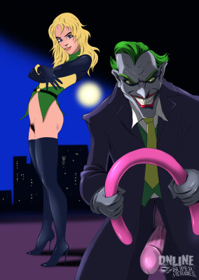 Goodcomix DC Comics - [Online SuperHeroes] - Joker Shows This Babe His Balloon Fetish!