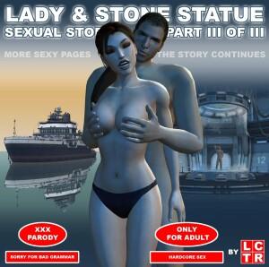 Goodcomix Tomb Raider - [lctr] - Lady & Stone Statue 3 - Sexual Story Part III of III - Resurrection