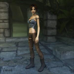Goodcomix Tomb Raider - [Vaesark](CG54) - Lara and the Gorillas