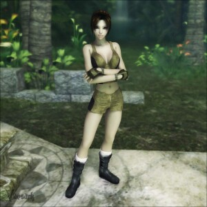 Goodcomix Tomb Raider - [Vaesark] - Laura And Tender Tyrannosaurus