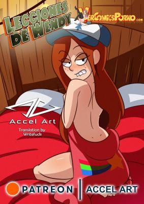 Goodcomix Gravity Falls - [Accel Art] - Lecciones De Wendy