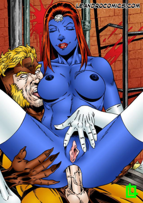 Goodcomix X-Men - [Leandro Comics] - Mystique and Sabertooth Fucking Hard