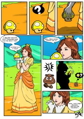 Goodcomix Super Mario Bros - [Silent-X-Voice] - Oh, Daisy!