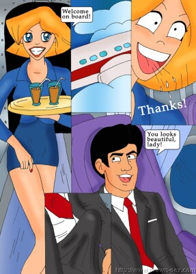 Goodcomix Totally Spies - [Drawn-Sex][Lucky Shark] - Operation Teams On Board