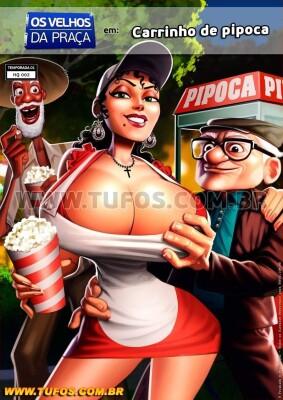 Goodcomix Crossover - [Tufos][Jaguar] - Old Geezers of Parks #2 - Popcorn Cart