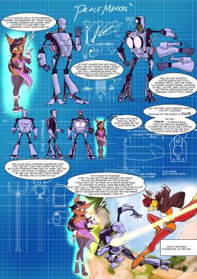 Goodcomix Sonic - [CaptainJingo] - Peace Maker
