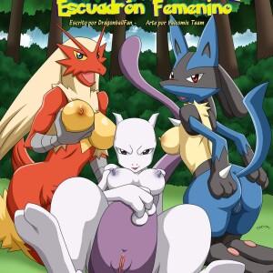 Pokemon - [Palcomix][PokepornLive] - Pokemon Female Squad - Pokemon Escuadron Femenino