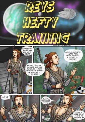 Goodcomix Star Wars - [UberMonkey] - Reys Hefty Training