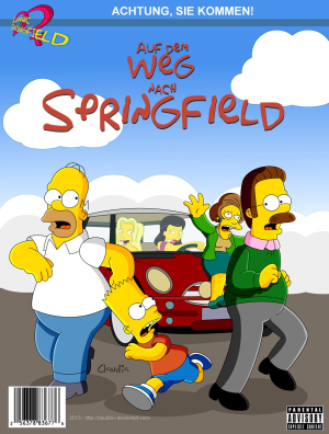 Goodcomix The Simpsons - [Claudia-R(Riviera)] - 1 - Road To Springfield