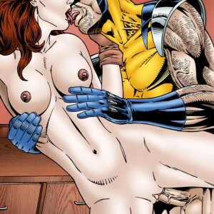 X-Men - [Leandro Comics] - Rogue Fucked Hard By Wolverine