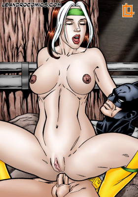 Goodcomix Crossover Heroes - [Leandro Comics] - Rogue Gets The Hottest, Hardest Anal Sex Ever From Batman!