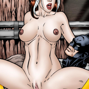 Crossover Heroes - [Leandro Comics] - Rogue Gets The Hottest, Hardest Anal Sex Ever From Batman!