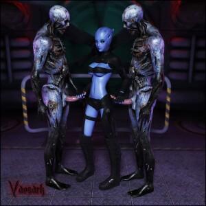 Goodcomix Mass Effect - [Vaesark](CGS02) - Sadia and Mass Effect Universe