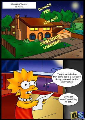 Goodcomix The Simpsons - [Drawn-Sex][Lucky Shark] - Simpsons House at 11.30 P.M