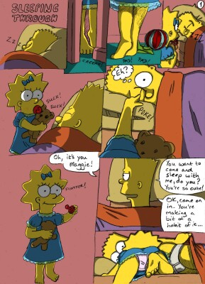 Goodcomix The Simpsons - [Jimmi] - Sleeping Through (Light+Night)