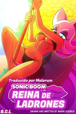 Goodcomix Sonic - [Marik Azemus] - Sonic Boom Queen of Thieves - Reina de Ladrones