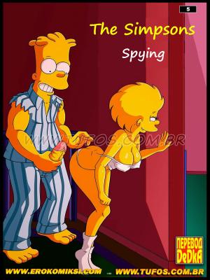 Goodcomix The Simpsons - [Tufos] - Os Simptoons 005 - Espiando Atrás Da Porta
