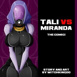 Goodcomix Mass Effect - [Witchking00] - Tali vs Miranda