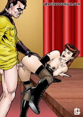 Goodcomix Watchmen  - [Leandro Comics] - The Comedian fucking the Silk Spectre