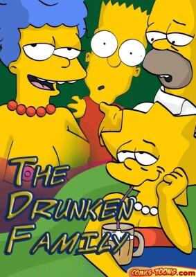 Goodcomix The Simpsons - [Comics-Toons] - The Drunken Family