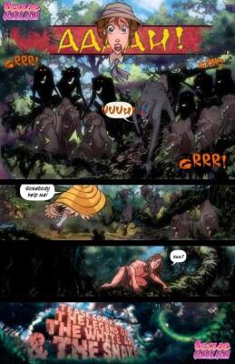 Goodcomix Tarzan - [TeaseComix] - The Legend Of The White Ape & The Snake