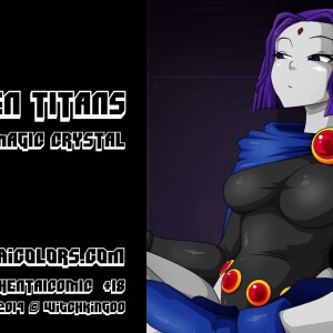 The Teen Titans - [Witchking00] - Teen Titans 1 - The Magic Crystal
