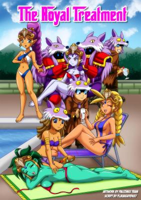 Goodcomix Shantae - [Palcomix] - The Royal Treatment