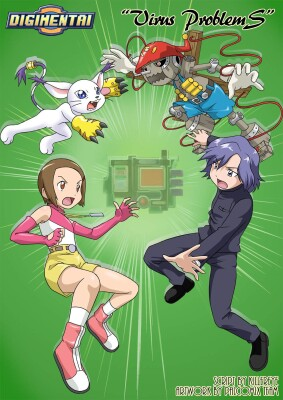 Goodcomix Digimon Adventure - [Palcomix][DigiHentai] - Virus Problems