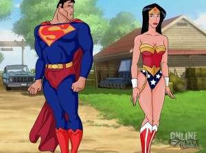 Goodcomix Justice League - [Online SuperHeroes][Max] - Wonder Woman And Superman Enjoy A Hardcore Countryside Fuck Together!