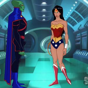 Justice League - [Online SuperHeroes][Max] - Wonder Woman Enjoys An Intense Alien Fuck With The Martian Manhunter!