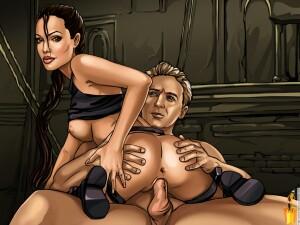 Goodcomix Tomb Raider - [Sinful Comics] - Working Moments (Angelina Jolie)