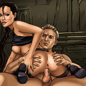 Tomb Raider - [Sinful Comics] - Working Moments (Angelina Jolie)
