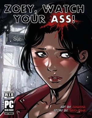 Goodcomix Left 4 Dead - [Ganassa] - Zoey! Watch Your Ass! 1-2