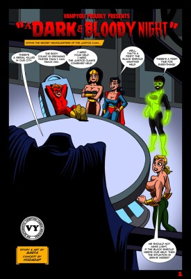 Goodcomix Justice League - [Basta] - A Dark And Bloody Night 1 - 4